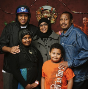 An ODMF family that utilizes their services.