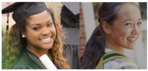 Treehouse students graduating and attending school.